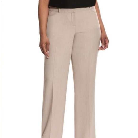 Lane Bryant The Lena Trousers Pants Boot Cut Moderately Curvy Fit NWT